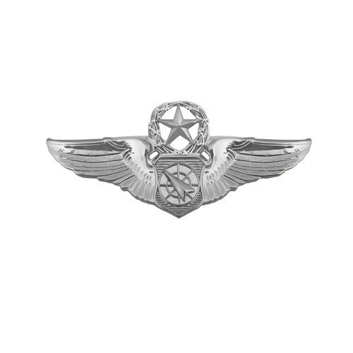 Air Force Badge: Air Battle Manager: Master - miniature