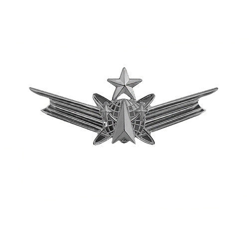 Army Dress Badge: Senior Space - miniature, mirror finish