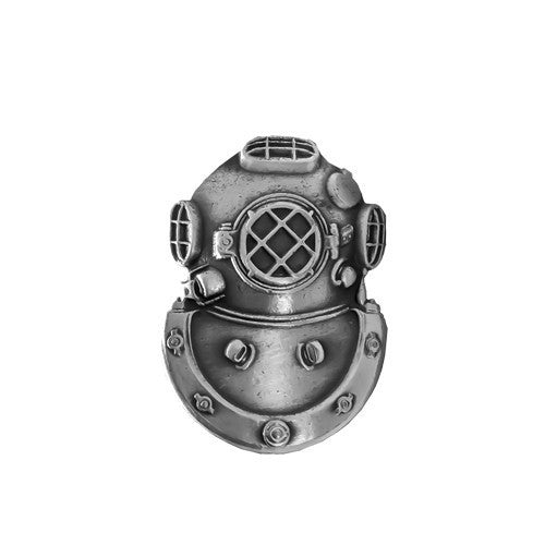 Dress Badge: Diver Second Class - miniature, oxidized