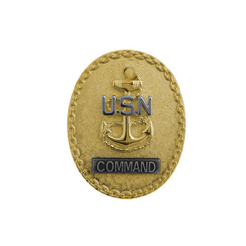 Navy Badge: Enlisted Advisor E7 Command CPO - miniature