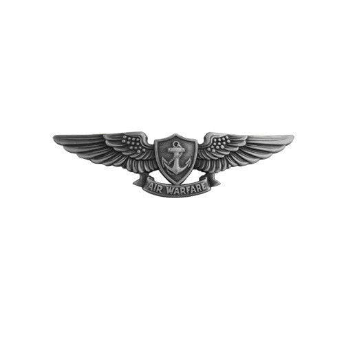 Navy Badge: Aviation Warfare Specialist - miniature, oxidized