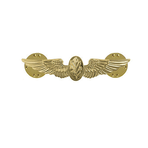Navy Badge: Flight Nurse - miniature, mirror finish