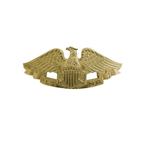 Navy Badge: Naval Reserve - miniature, mirror finish
