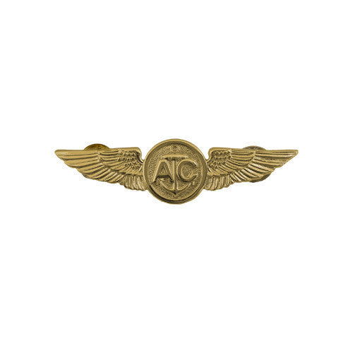 Navy Badge: Air Crew - miniature, mirror finish