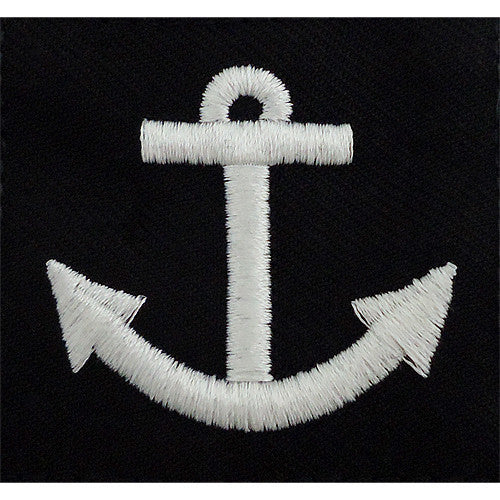 Navy Rating Badge: Seaman Apprentice - serge blue for dress uniforms