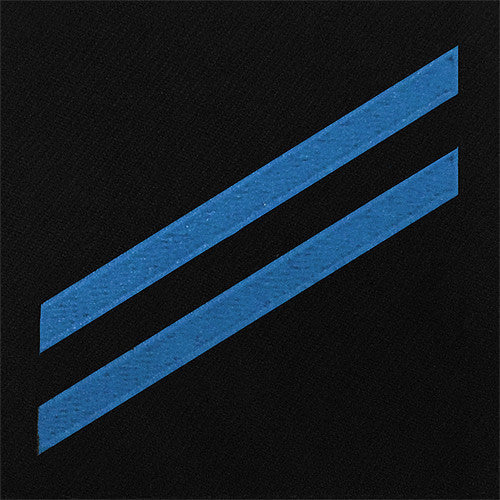 Navy E2 Rating Badge: Construction Apprentice - blue