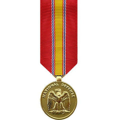 Miniature Medal- Anodized: National Defense Service