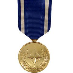 Full Size Medal: NATO Medal - 24k Gold Plated
