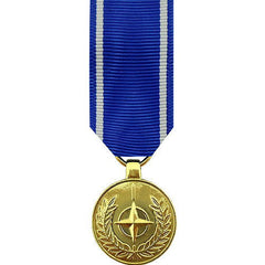 Miniature Medal- Anodized: NATO Medal