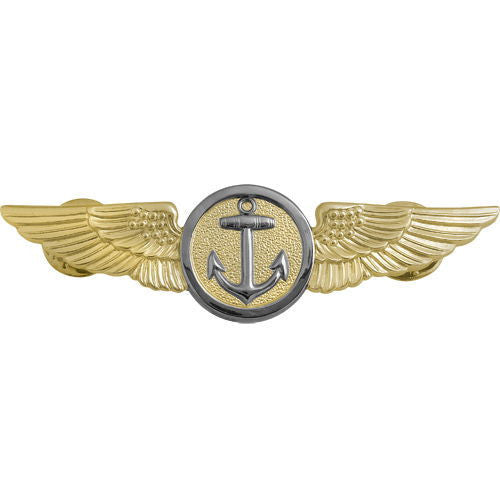 Navy Badge: Naval Aviation Observer Flight Meteorologist - regulation