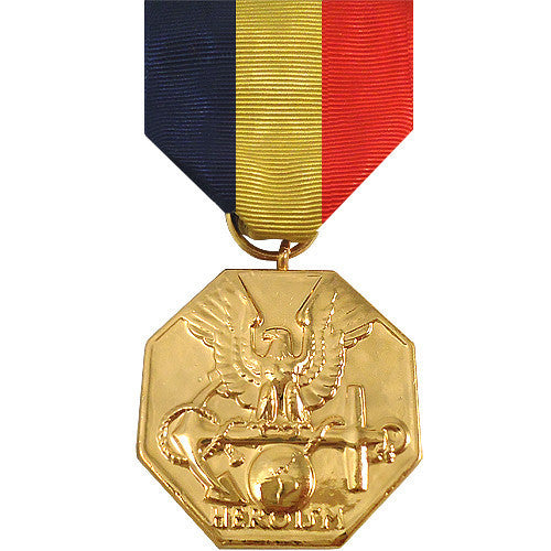 Full Size Medal: Navy and Marine Medal - anodized