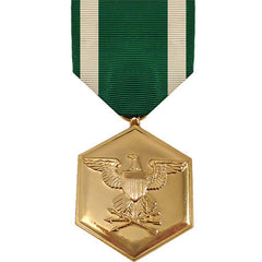 Full Size Medal: Navy and Marine Corps Commendation - anodized