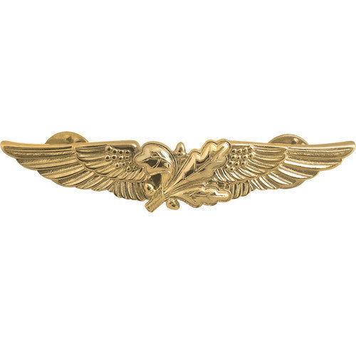 Navy Badge: Aviation Supply Officer - miniature, mirror finish