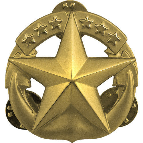 Navy Badge: Command at Sea - regulation size