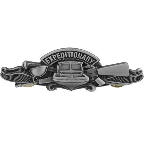 Navy Badge: Expeditionary Warfare Specialist Enlisted - regulation size
