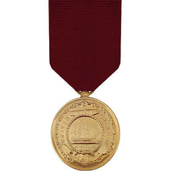 Full Size Medal: Navy Good Conduct - 24k Gold Plated
