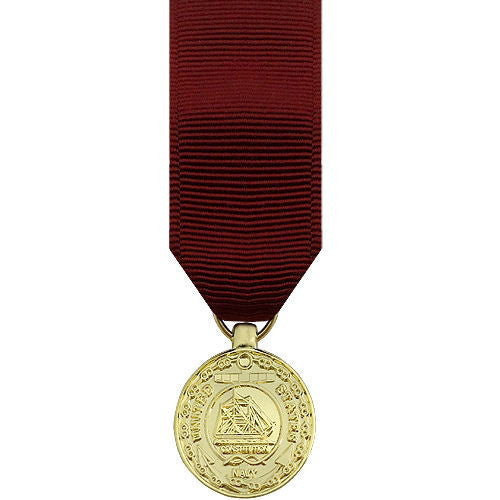 Navy Miniature Medal: Good Conduct - anodized