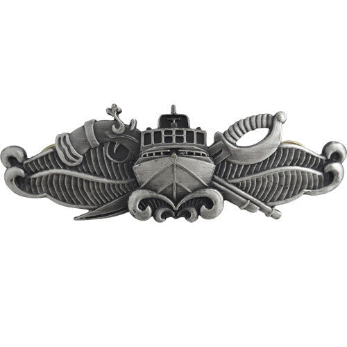 Naval Special Warfare Combatant Craft Crewman - regulation Oxidized finish