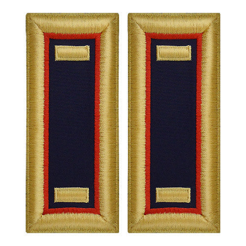Army Shoulder Strap: Second Lieutenant Adjutant General - female