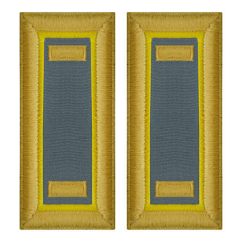 Army Shoulder Strap: Second Lieutenant Finance - female