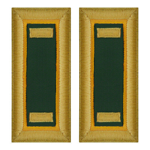 Army Shoulder Strap: Second Lieutenant Military Police - female