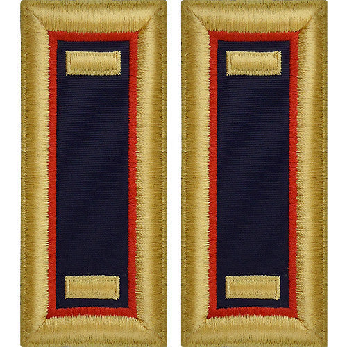Army Shoulder Strap: Second Lieutenant Adjutant General