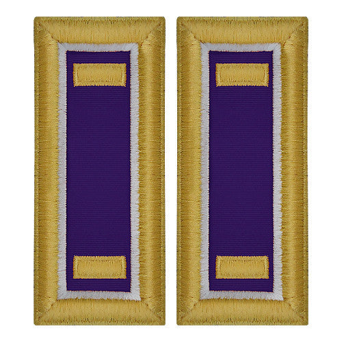 Army Shoulder Strap: Second Lieutenant Civil Affairs - female