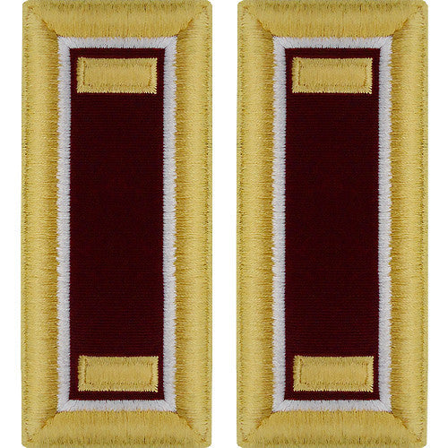 Army Shoulder Strap: Second Lieutenant Medical
