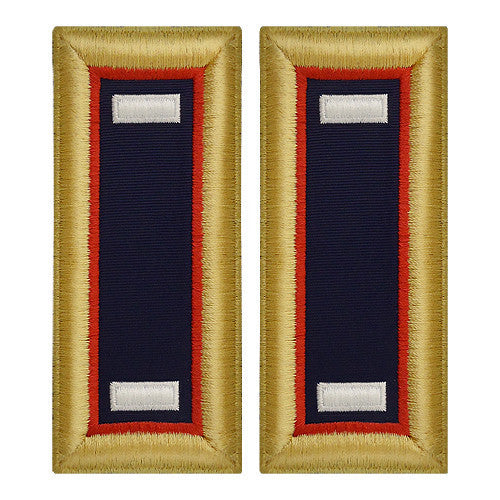 Army Shoulder Strap: First Lieutenant Adjutant General - female
