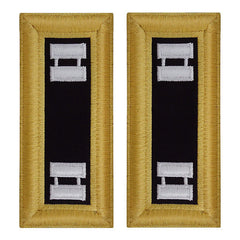 Army Shoulder Strap: Captain Chaplain - female