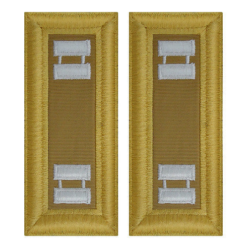 Army Shoulder Strap: Captain Quartermaster - female