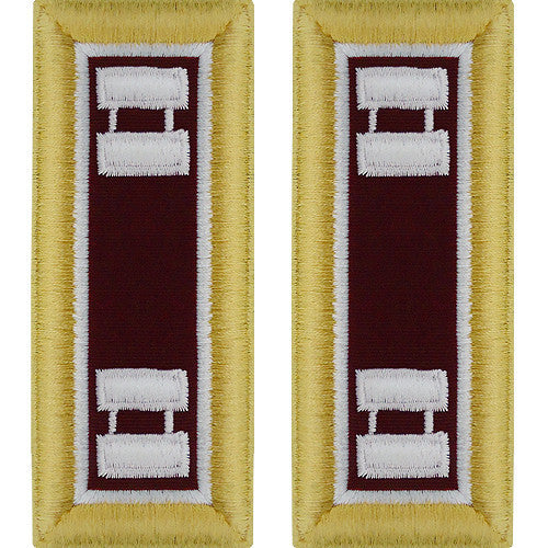 Army Shoulder Strap: Captain Medical