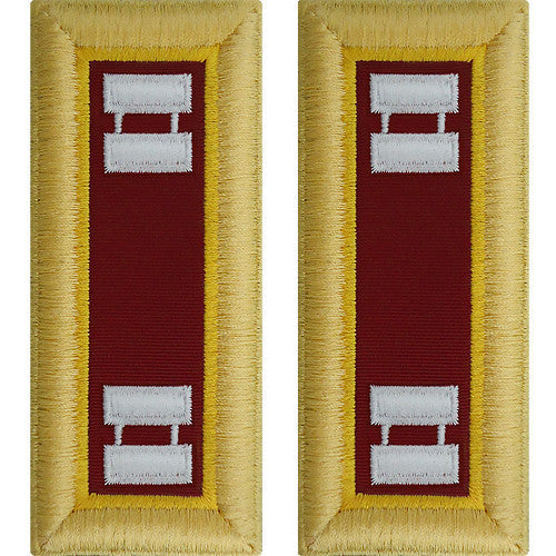 Army Shoulder Strap: Captain Transportation