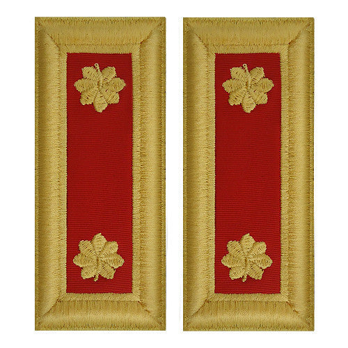 Army Shoulder Strap: Major Artillery - female
