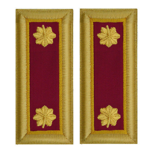 Army Shoulder Strap: Major Ordnance - female