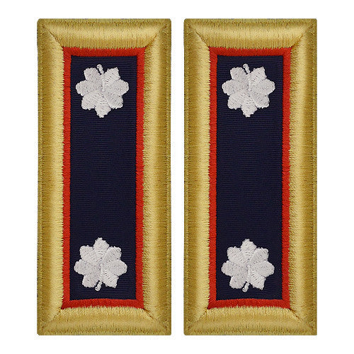Army Shoulder Strap: Lieutenant Colonel Adjutant General - female