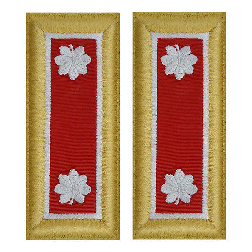 Army Shoulder Strap: Lieutenant Colonel Engineer - female