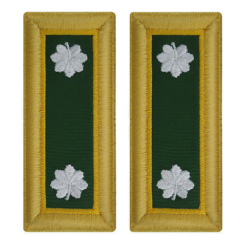 Army Shoulder Strap: Lieutenant Colonel Military Police - female