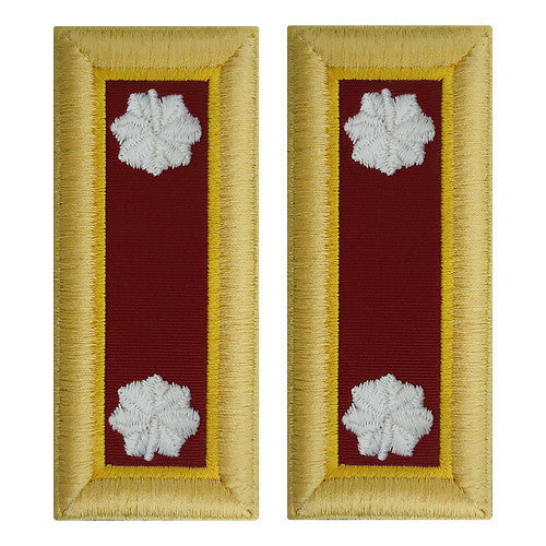 Army Shoulder Strap: Lieutenant Colonel Transportation - female
