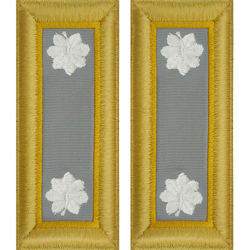 Army Shoulder Strap: Lieutenant Colonel Finance