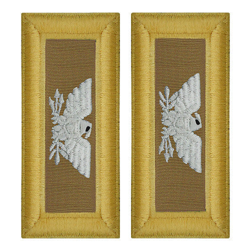 Army Shoulder Strap: Colonel Quartermaster - female