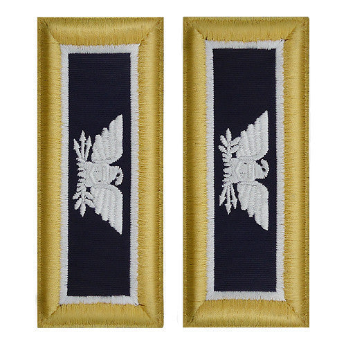 Army Shoulder Strap: Colonel Judge Advocate - female