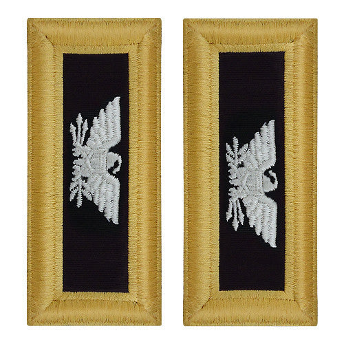 Army Shoulder Strap: Colonel Chaplain - female