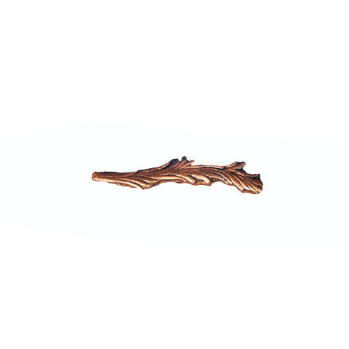NO PRONG Ribbon Attachments: Palm - 9/16 inch bronze