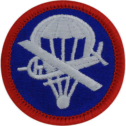Army Patch: Paraglider Enlisted - color