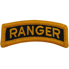 Army Embroidered Tab: Ranger - color