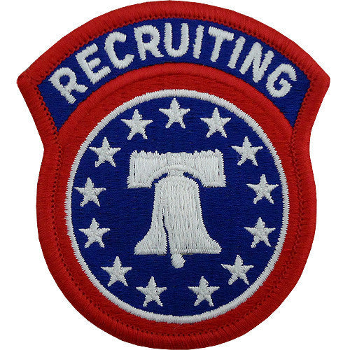 Army Patch: Recruiting Command - color