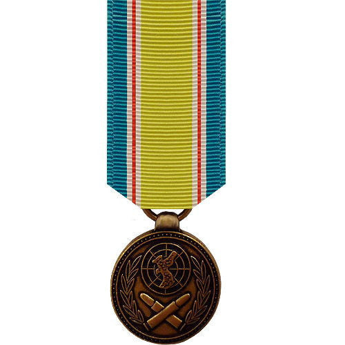 Miniature Medal: Republic of Korean War Service No Device