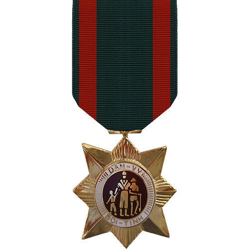 Full Size Medal: Vietnam Civil Action Second Class