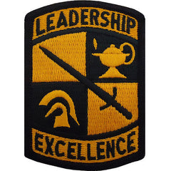 Army Patch: Leadership Excellence - color